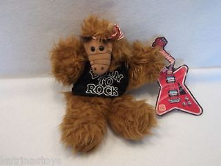 1988 Burger king ALF Musician Born to Rock plush puppet doll toy