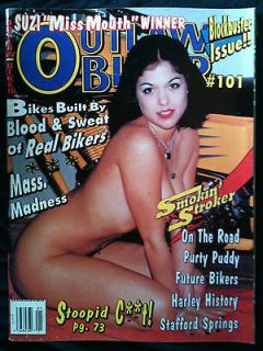 OUTLAW BIKER Magazine Vol 13 #3 Issue 101 Motorcycle Harley Choppers