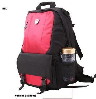 Camera Bag Backpack Laptop Bag For Canon Sony Nikon Pentax Fuji  RED
