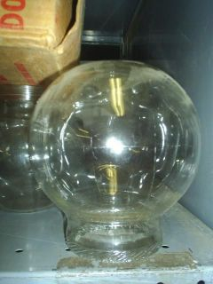 ORIGINAL 40s Glass Globe for old Ford Gumball Machine