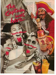 captain morgan rum bottle