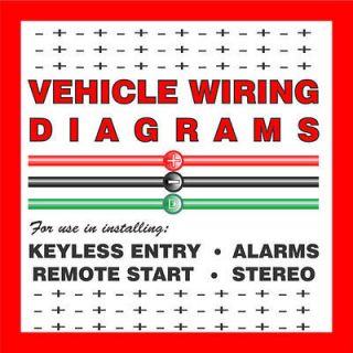 VEHICLE WIRING DIAGRAMS for Car Alarms, Remote Starters