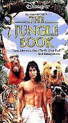 Jungle Book [VHS] Jason Scott Lee, Cary Elwes, Len Stephen Sommers PG