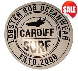 CARDIFF SURF BOARD SURFING STICKERS DECALS SALE