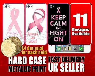 Breast Cancer Awareness Pink Ribbon iPhone 4 / 4S hard case cover