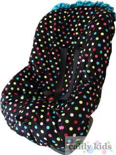 polka dot car seat covers