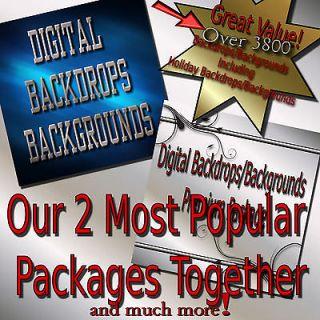 Digital Backdrops/Back groundsMega Package seniors family valentine