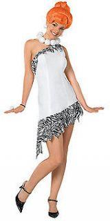 Adult Womens Wilma Flintstone The Flintstones Costume Cavewoman Dress