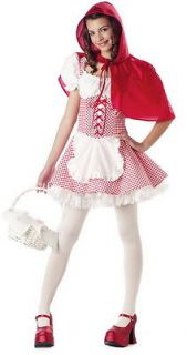 Girls Tween Little Red Riding Hood Costume CC 04004