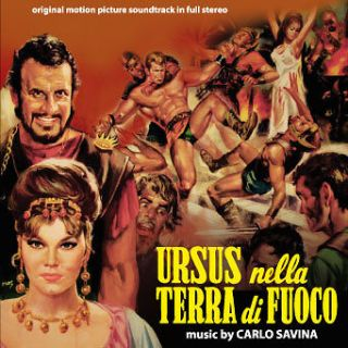 Carlo Savina Ursus nella terra di fuoco OST NEW CD