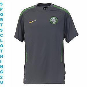 Nike Celtic FC Mens 2010 2011 Short Sleeve Dry Fit Training Jersey