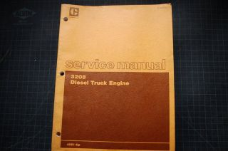 CAT Caterpillar 3208 Diesel Truck Engine Repair Shop Service Manual