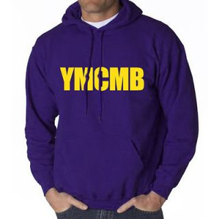 YMCMB HOODIE YOUNG MONEY WAYNE SWEAT SHIRT LIL HIP WEEZY HOP RAP ROYAL