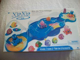 Xia Xia Rio de Trio Village Playset~hermit crab habitat toy