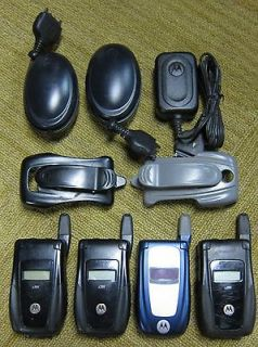 Motorola i560 760 Nextel rugged cell phones mobile A GPS army cellular