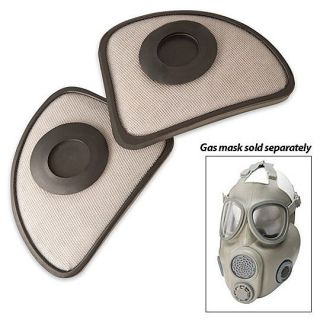 Czech M10M Gas Mask Filters New & Unissued