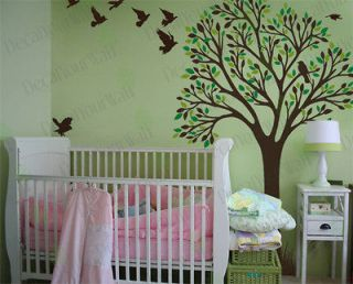 Nursery Baby Kids Room Large Tree Vinyl Wall Decal