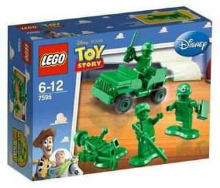 LEGO 7595 Toy Story Army Men on Patrol Minifigures New/Sealed FREE US