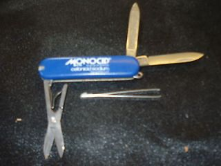 VINTAGE ROSTFREI VICTORINOX LOBSTER KNIFE FROM MONOCID L@@K