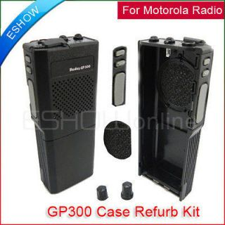 Case Refurb Kit For Motorola CB Radio GP300 with Complete Radio