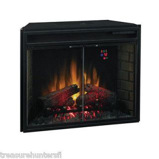 Classic Flame Insert Electric Fireplace Home Wood Burning Fire Place