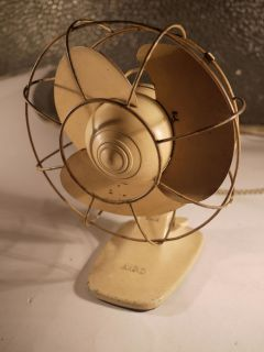 Rare Vintage Antique electric fan made by AEG Germany