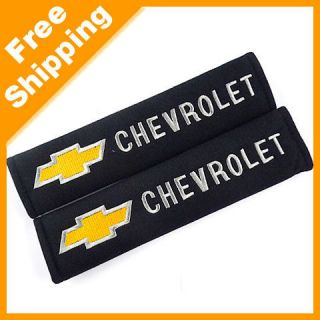 /Truck Seat Belt Embroidered Shoulder Pads Cover for Chevrolet(1180