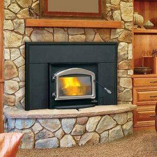 1101 EPI Wood Burning Insert Flush Mount Efficient EPA Certified