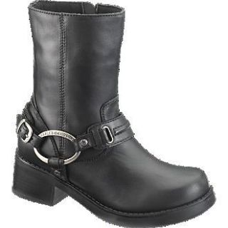 Womens Harley Davidson Christa Boot / Black D85298