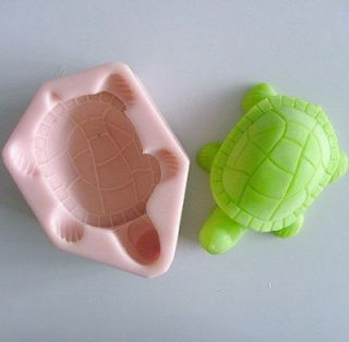 1pcs Acrawl Turtle (H0044) Silicone Handmade Soap Mold Crafts DIY Mold