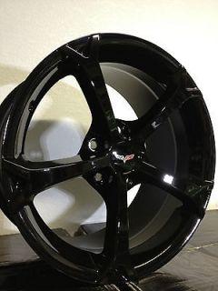 17 Inch Black Chevrolet Corvette Grand Sport Wheels Rims Camaro C4
