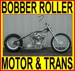 100 RIGID BOBBER CHOPPER ROLLING CHASSIS ENGINE HARLEY BIKE KIT