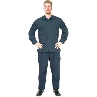 NAVY BLUE BDU CARGO PANTS   Cotton/Poly Rip Stop, Fatigue Trousers
