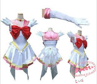 Sailor Chibi Moon Sailor Moon Uniform Costume Cosplay Dress Anime