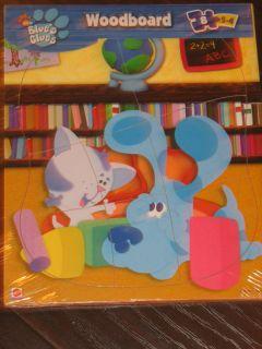 Blues Clues Room Wood Puzzle kids Toddler Wooden Durable Puzzle *D1