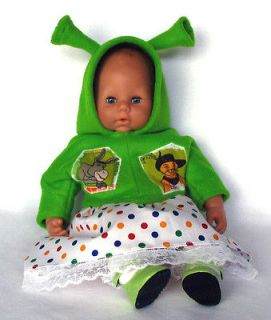 Fiona from Shrek for Baby Born Annabell Chou Chou Dolls Outfit Clothes