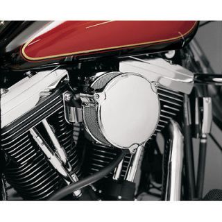 CHROME DRAGTRON II AIR CLEANER HARLEY DYNA FXD SUPER GLIDE FXDL LOW