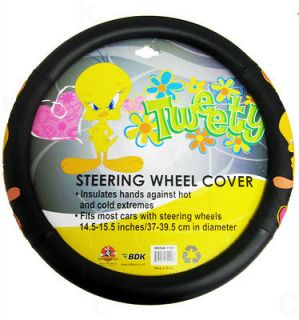 Looney Tunes Tweety Bird Car Steering Wheel Cover
