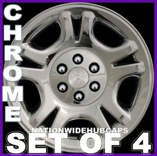 DAKOTA CHROME Wheel Skins Full Rim Hub Caps Covers 6Lug Alloy Wheels