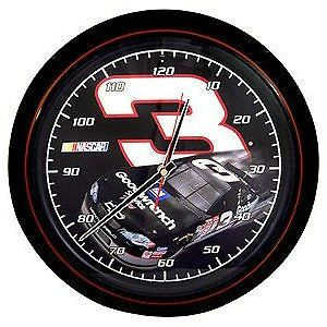 NASCAR #3 Dale Earnhardt Richard Childress Racing Sound Wall Clock NEW