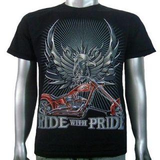 Tattoo Iron Eagle Animal Chopper American Motor Cycle Biker Men Boys