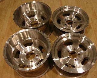 15x10 & 15x7 Vintage Slot Mag Rims Wheels 5x5 Buick Pontiac Oldmobile