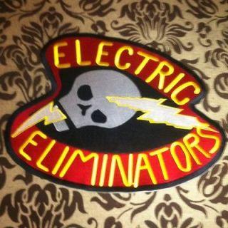 The Warriors Electric Eliminators Large Patch Vest Mezco Embroidered