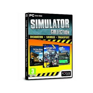 SIMULATOR COLLECTION Salvage, Excavation and Transport (PC) NEW