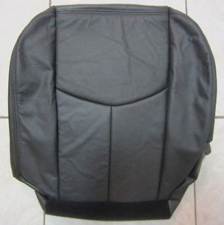 03 06 Chevy Tahoe Suburban Z71 Leather Driver Side Bottom Seat Cover
