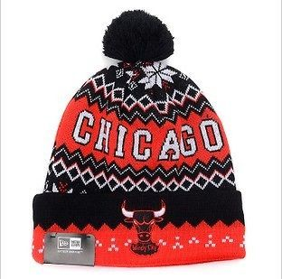 New CHICAGO BULLS Beanie Hip hop Hat Knitted Cotton Winter Cap Hot new