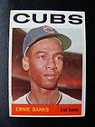 Ernie Banks Chicago Cubs Photo 1964 REDUCED