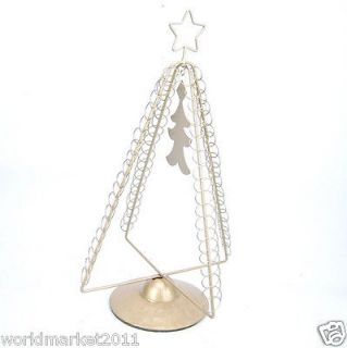 Wrought Iron Christmas Decoration Tree Tower Decorative Furnishings
