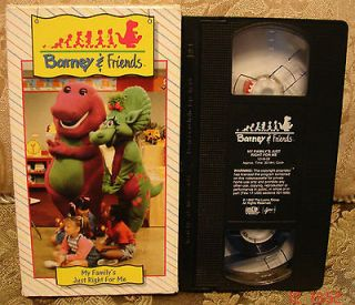 Time Life MY FAMILYS JUST RIGHT FOR ME Very RARE Vhs Video #08