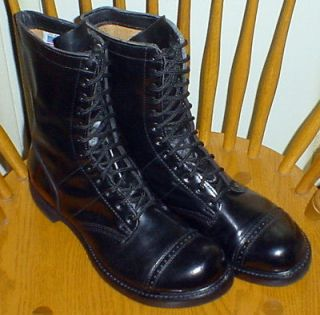 BRAND NEW HH 975 Military Paratrooper Jump Boots    Size 13E    DOUBLE